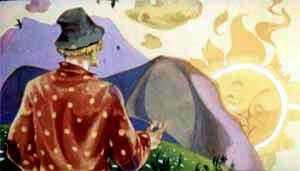 солнце все впереди, только к вечеру за горой село