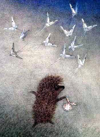 Сказка Ёжик в тумане, Козлов Сергей