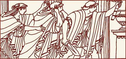 Как Геракл задушил змей