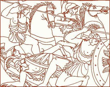 Геракл у амазонок