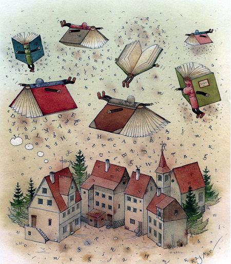 Летучие книги