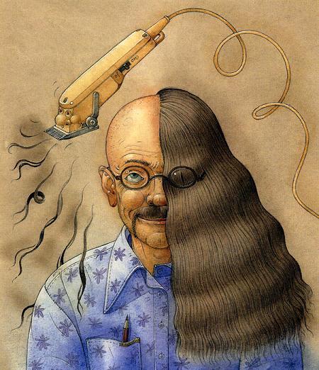 стригут налысо Машинкой для стрижки волос