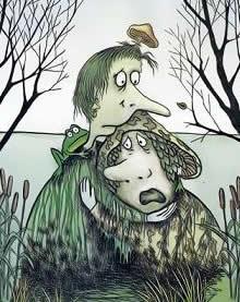 в болоте