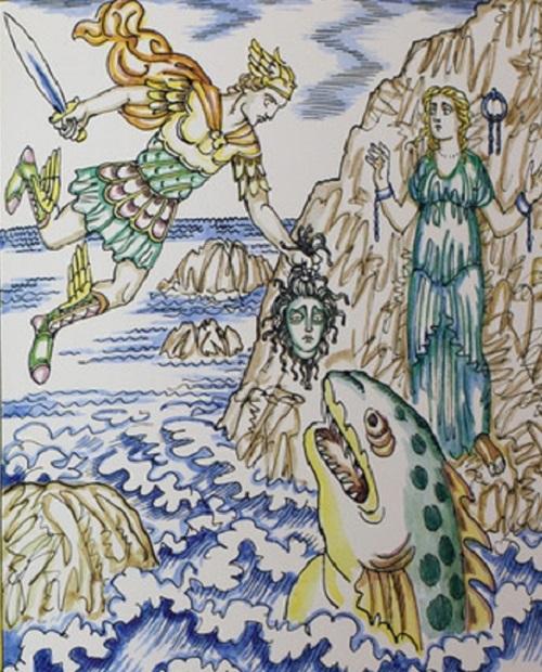 Персей спасает Андромеду
