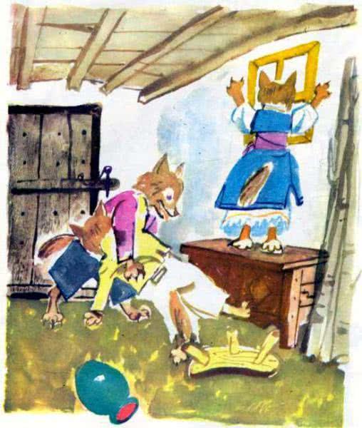 Храбрый заяц и волчица Каралийчев