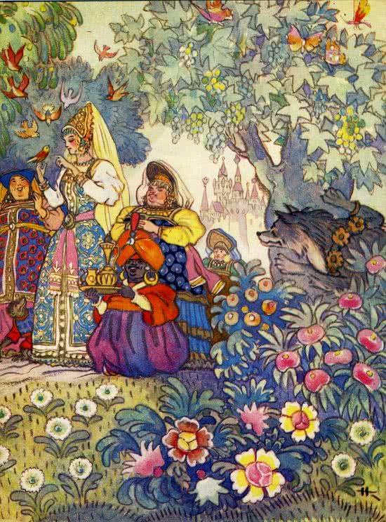 Сказка Иван-царевич и серый волк, Русская народная сказка