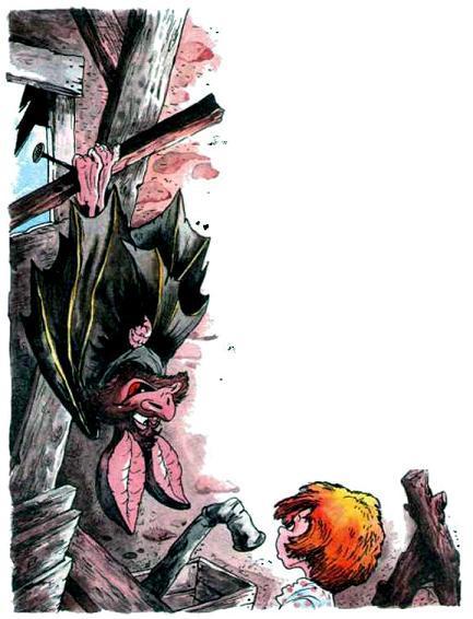 Маша и летучая мышь