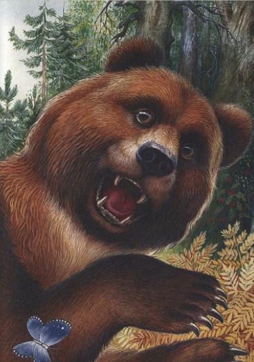 Как медведь сам себя напугал   Изображение - 5