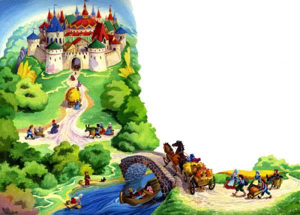 Сказка Король Дроздобород, Братья Гримм