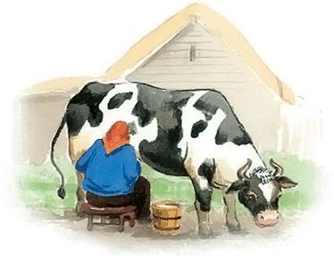 Корова и козёл