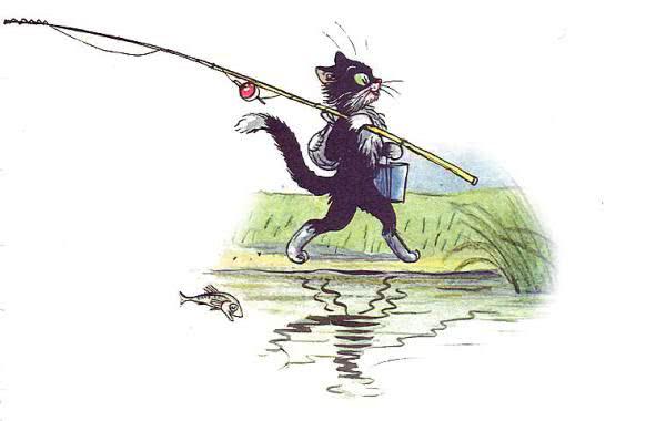 Кот-рыболов - Сутеев В.Г.