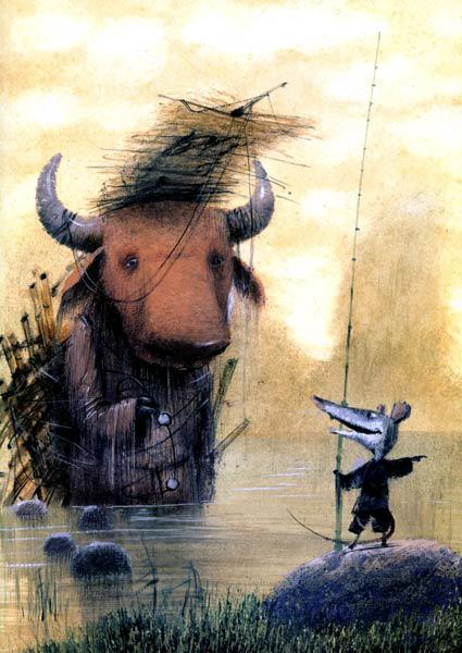бык и крыса