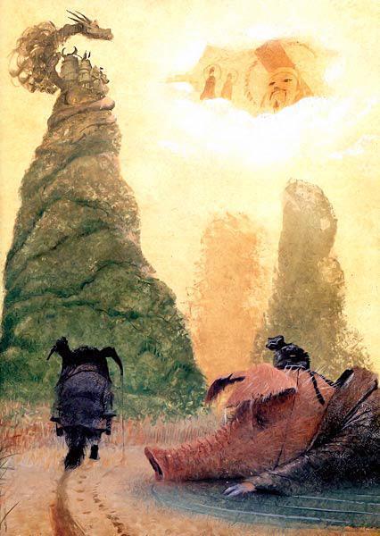 звери и небесный творец
