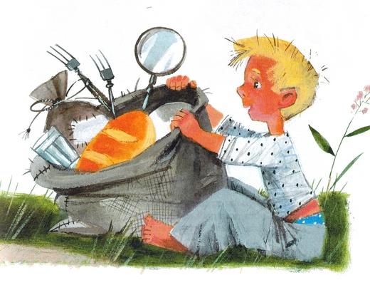 иллюстрации к рассказу великие путешественники зощенко фото видно