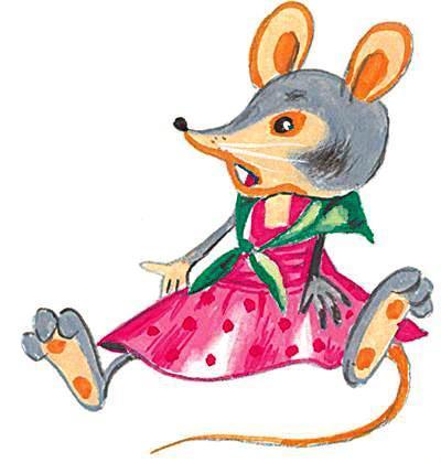 картинки герои сказки теремок мышка