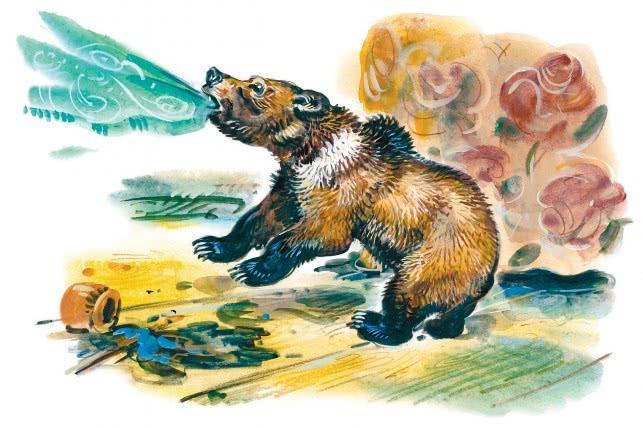 медведко мамин-сибиряк картинки