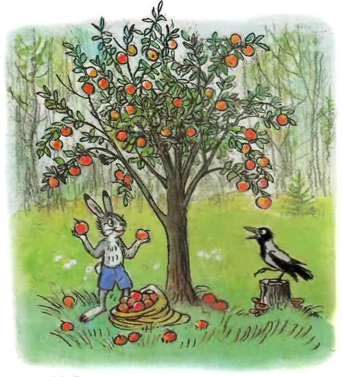 сказка сутеева мешок яблок