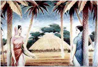 на севере Индии, в Пенджабе, жили две сестры - Мотхо и Мунго