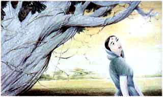 Мунго к сливовому дереву подошла