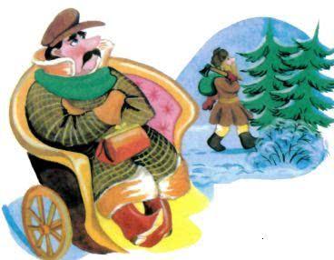 Мужик и барин - русская народная сказка