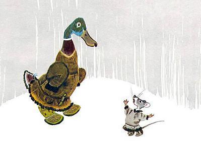 Мышь-хвастунишка и утка