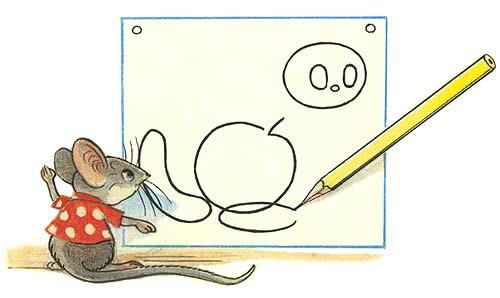 Мышонок и карандаш - Сутеев В.Г.