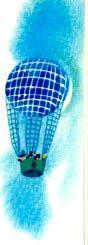 воздушный шар парит в небе