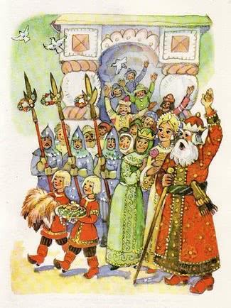 Сказка Никита Кожемяка, Русская народная сказка