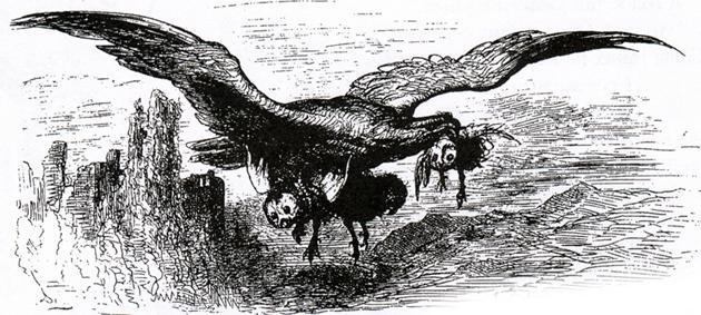 Орел и сова