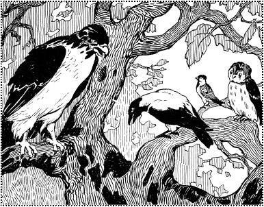 Орел и ворона