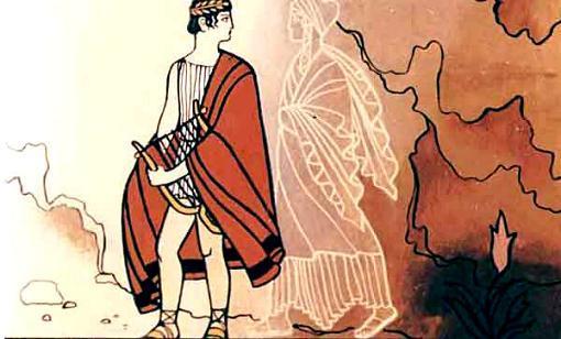 Орфей обернулся посмотреть на Эвридику