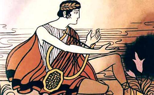 Орфей на берегу Стикса один и ждал