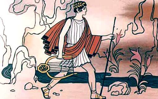 Орфей дошёл до берега Стикса