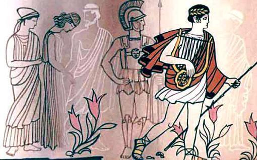 Орфей и тени умерших
