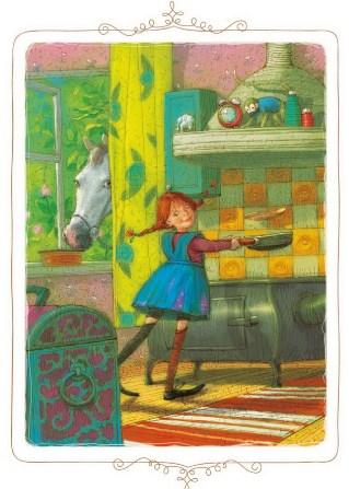 Пеппи поселяется в вилле Курица   Изображение - 2