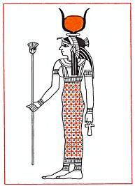 Хатор, богиня неба, кормилица мира.