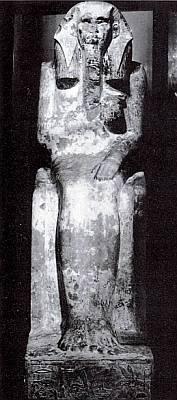 Известняковая статуя фараона Джосера