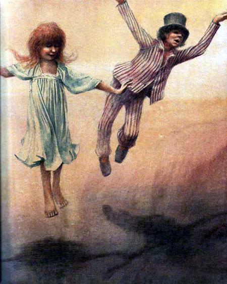 дети летают