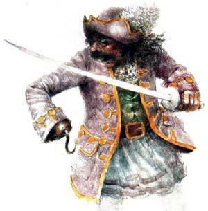 капитан Крюк Пират