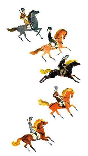 Стали казаки охотиться на поречней