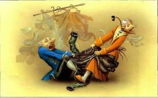 Барон Мюнхаузен и Иван и взбесившийся сюртук