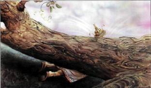 дерево раздавило повелителя