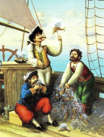 барон на рыбацком судне