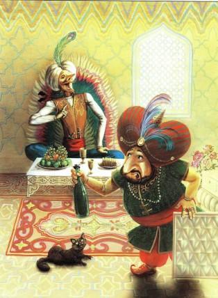барон Мюнхаузен и султан Магомет
