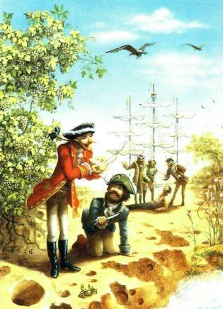 барон Мюнхаузен и голландцы на сырном острове
