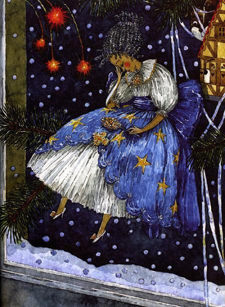 новогодняя елка грусная принцесса