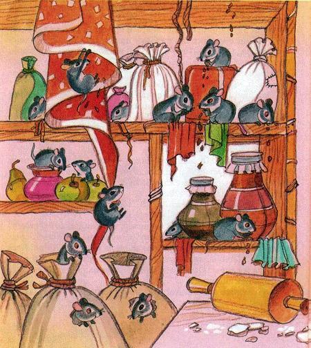 мыши в кладовой
