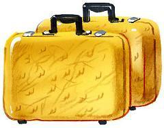 жёлтый чемоданчик