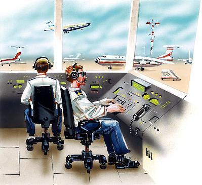 диспетчеры аэропорта