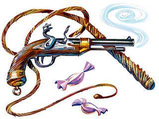 хлыст и пистолет дрессировщика